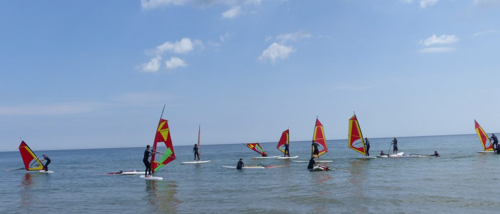 Surfen auf Prora